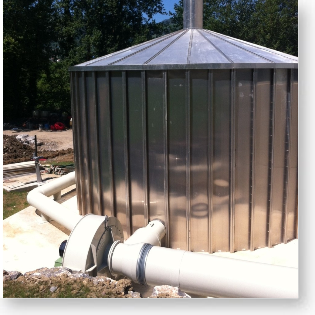 Sistemas de desodorización - Purificación del aire   JSF Hidráulica
