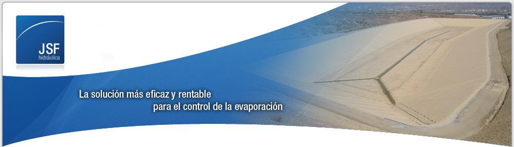 Control de la evaporación con cubiertas flotantes | JSF Hidráulica