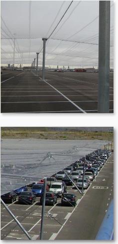 Cubiertas superficies de cultivo y campas de automóviles | JSF Hidráulica